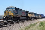 TFM 2608, UP 3303, HLCX 6334, & UP 2184