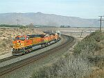 BNSF Westbound through Sandcut
