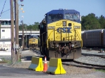 CSX 7744,CSX 9028 In the Yard