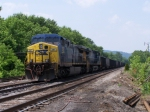 CSX 297 on a siding