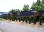 CSX 560 on a siding