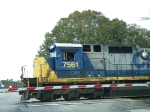 CSX 7561 Crosses US 301