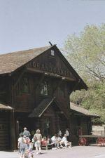 Last of it's kind, Log Cabin Station
