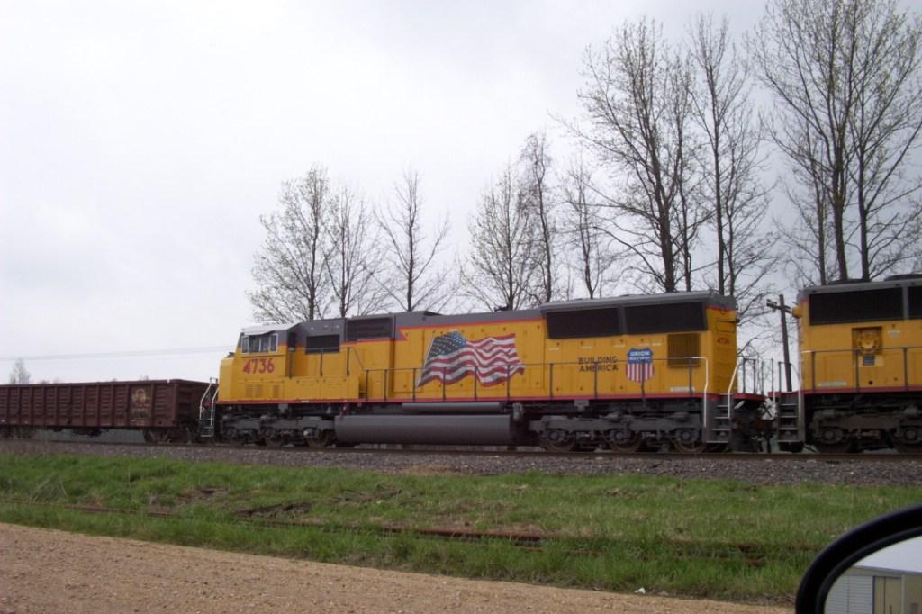 UP 4736 Flag Unit