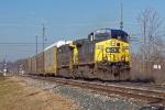 CSXT Train Q21624