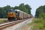 CSXT Train Q21619