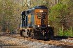 CSXT Train D71404
