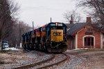 CSXT Train X78602