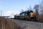 CSXT Train D71628