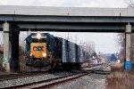 CSXT Train D71602