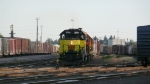 Northbound on track 4
