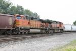 BNSF 5309 & 1076