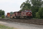 24T heading east with CP 9770 & 9657 for power