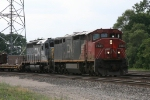 CN 2443 & GTW 5941 rolling east with M392