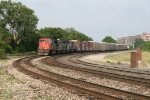 CN 5651 leading E281 with IC 6252 & 6011