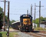 CSXT Train D73906