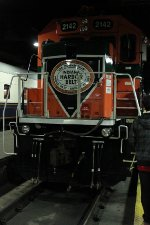 IHB sent 4-axle Genset 2142 to represent them at CUS for National Train Day