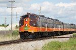 Iowa Pacific/High Iron Travel Chicago to Prairie du Chien excursion is 40 miles into its trip