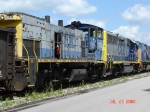 CSX 1192     GE MP15AC      July 22, 2008
