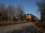 CSX 4733 Leads Q438 Through Belle Mead, NJ With 528 Axles, Moving At 40 MPH, No Defects At The Belle Mead HBD-DED