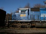 ex-Conrail Quality Engine, Now CSX 8812 Sits At Belle Mead On The Main Track For An Unknown Reason