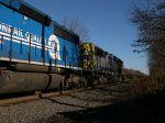 CSX 8568 And A Conrail Quality Engine