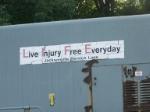 """Live Injury Free Everyday"""