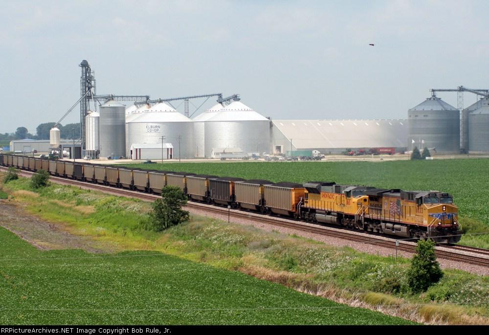 UP coal train