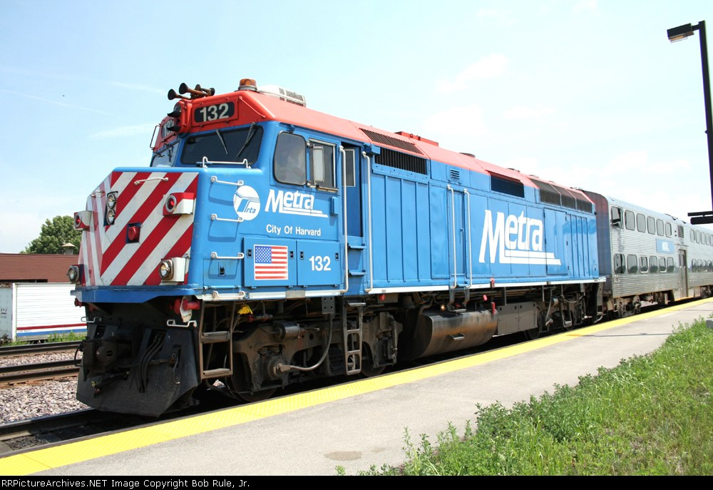 Metra at Elburn Station