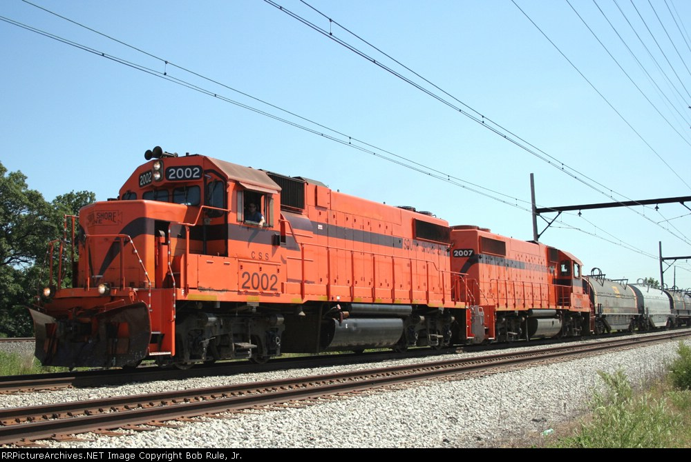 WB South Shore Freight