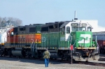 BNSF 1534 and 2357