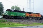 BNSF 2098 and 503