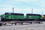 BNSF 2740 and 6815
