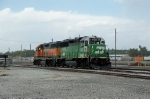 BNSF 3132 and 2177