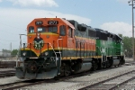 BNSF 2177 and 3132