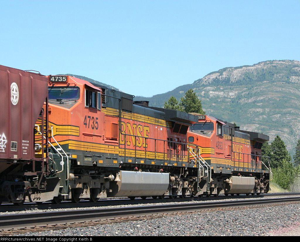 BNSF 4735