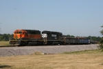 BNSF 6835 & NS 3271 working in the yard at SDI