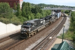 NS 9766 & 8810 rolling 122 eastward