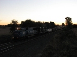 Its 7:56AM as NS 6751 & 8826 head west with 23Z