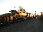 NS 8827 & 9018 trailing east