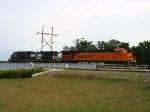 BNSF 7749 & NS 9765