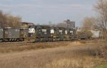 NS 3319 and the majestic Elkhart skyline
