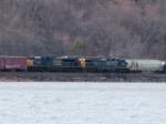 CSX 4849 & 414