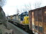 CSX 8866 & 8831
