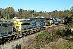 CSX Train L544 meets Q685