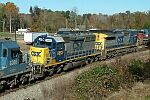 CSX 8863 on train L544