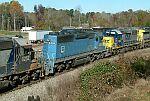 EMDX 6306 on train L544