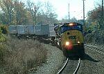 CSX Train Q124