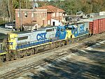 CSX 7773 and 1505 on train Q592