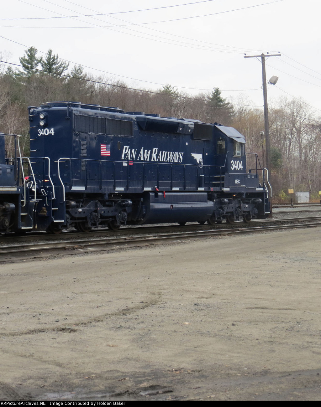 MEC 3404 in brand new Pan Am paint